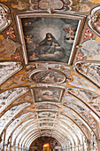 Ceiling of the Antiquarium, Residenz, Munich, Upper Bavaria,  Bavaria, Germany