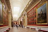 Russia, Saint Petersburg, Center, Winter Palace, Hermitage Museum, Room 197, The 1812 War Gallery