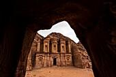The Monastery Ad-Deir, Petra Archaeological Park a UNESCO world heritage site, Petra, Jordan