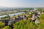 16 , architecture , building , city , cityscape , Color image , Copy space , day , Europe , Germany , heritage , historic , horizontal , Moselle , outdoor , overview , Rhineland-Palatinate , river , treves , Trier , V04-1497206 , AGEFOTOSTOCK