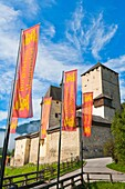 architecture , Austria , building , color image , day , Europe , fortification , fortress , heritage , historic , Mauterndorf , outdoor , vertical , V04-1589878 , AGEFOTOSTOCK