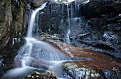 Erebus Falls along Townline Brook in the White Mountains, New Hampshire USA  These are a series of three waterfalls referred to as Triple Falls