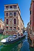 Typical Venetian houses, Castello, Venice, Italy