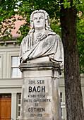 Johann Sebastian Bach Monument, Köthen, Saxony-Anhalt, Germany, Europe