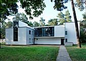 House Muche Schlemmer, Master House Settlement, Bauhaus, Dessau, Saxony-Anhalt, Germany, Europe