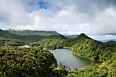 Freshwater Lake in Morne Trois Pitons National Park, Caribbean, Dominica, Leeward Antilles, Lesser Antilles, Antilles, Carribean, West Indies, Central America, North America