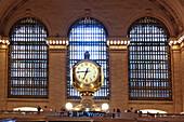 Uhren, Grand Central Station, Manhattan, New York City, New York, USA