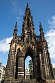 Walter Scott Monument, Edinburgh, Scotland, United Kingdom