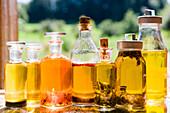 Homemade herbal vinegar and liqueur, Preserving, Homemade