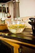 Homemade elderflower syrup, juice, Homemade, Bavaria, Germany