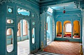 Zenana Mahal or queen´s chambers ,City Palace,Udaipur, Rajasthan, india