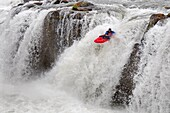 Kayaking Star Falls which is rated Class 6 on the Murtaugh section of The Snake River near the town of Murtaugh in southern Idaho
