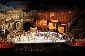 Carmen by Bizet, performance at Arena, Verona, Italy
