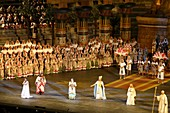 Aida by Giuseppe Verdi, performance at Arena, Verona, Italy