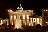 The Brandenburg Gate, Berlin,Germany