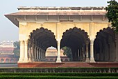 Diwan I Am Hall of Public Audience at Agra Fort, Agra, India