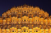 Hawa Mahal, also knows as the Palace of Winds, Jaipur, India