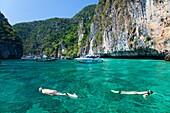 Snorkeling Around Ko Phi-Phi, Thailand
