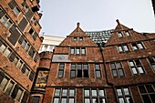 historical builings, old town, Free Hanseatic City of Bremen, Germany