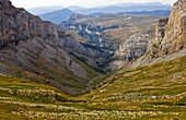 Cirque and Añisclo Canyon - Ordesa National Park and Monte Perdido - Ordesa Valley - Province of Huesca - Aragón Pyrenees - Pyrenees - Sobrarbe - Aragon - Spain - Europe