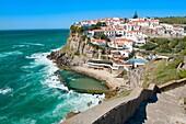 Natural pool, Azenhas do Mar, Lisbon Coast, Portugal