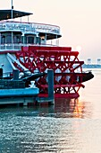 Riverboat Natchez  Oldest surviving paddle style riverboat in New Orleans  Currently used for Missippi River dinner cruises
