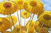 Asia,South East Asia,Indonesia,yellow balinese umbrella