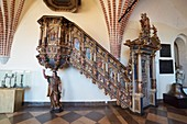 Duke´s Castle in Darlowo - interiors, West Pomerania, Poland, Europe