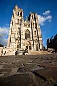 Cathedral of Saint Michael and Saint Gudula in Brussels, Belgium