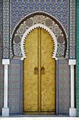 Oriental Door of the Royal Palace Fez Morocco