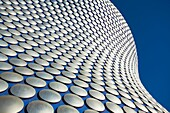 England, West Midlands, Birmingham  Abstract shapes of the modern Selfridges building, part of the Bull Ring shopping centre in Birmingham