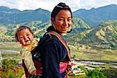 Black Hmong women, Sapa, Vietnam