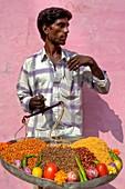 Street Vendor, Pushkar, Rajasthan, India