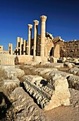 Temple of Bel  Palmyra Tadmur, Syria  The complex consists of two parts: a huge walled courtyard, or temenos, and, at its centre, the temple proper or cella