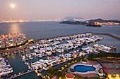 China,Hong Kong,Lantau,Discovery Bay,Discovery Bay Marina Club