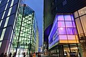 England,London,Southwark,More London Piazza,Office Windows