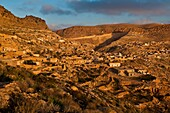 North Africa, Tunisia, Gabes province, the cave-dwelling berbere village of Toujane