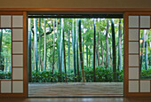 Okochi Sanso Villa Bamboo Garden is a national landmark and place to visit near Kyoto.