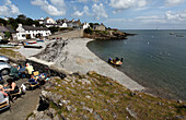 The bay of Moelfre in the north-west of the island Angesey, North Wales, Great Britain, Europe