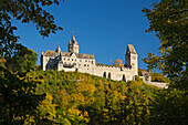 Altena castle, Klusenberg, Altena, Sauerland region, North Rhine-Westphalia, Germany