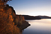 Lake Bigge, near Attendorn, Sauerland region, North Rhine-Westphalia, Germany