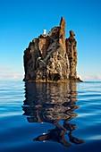 Strombolicchio islet, Stromboli island  Eolie Islands, Sicily  Italy.
