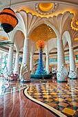 The Atlantis hotel, Palm Jumeirah, Dubai City, Dubai, United Arab Emirates, Middle East.