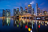 Asia, Singapore, City Skyline, Cityscape, Skyscrapers, Modern Buildings, Hi_rise, Night View, Night Lights, Illumination, Tourism, Holiday, Vacation, Travel. Asia, Singapore, City Skyline, Cityscape, Skyscrapers, Modern Buildings, Hi_rise, Night View, Nig