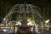 Archibald Fountain, Hyde park, Sydney, New South Wales, Australia, well, places of interest, night, park, water, trees, water fountains, statue, fields, compartments, lighting, investigation, long time exposure. Archibald Fountain, Hyde park, Sydney, New