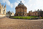 UK, United Kingdom, Great Britain, Britain, England, Europe, Oxfordshire, Oxford, Oxford University, Radcliffe Camera, University, Education. UK, United Kingdom, Great Britain, Britain, England, Europe, Oxfordshire, Oxford, Oxford University, Radcliffe Ca