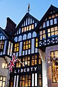 UK, United Kingdom, Great Britain, Britain, England, Europe, London, Liberty, Department Store, Libertys. UK, United Kingdom, Great Britain, Britain, England, Europe, London, Liberty, Department Store, Libertys