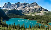 Lake O´Hara in Yoho National Park, British Columbia, Canada, is one of the most popular hiking areas in the Canadian Rocky Mountains