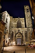 Church of Sants Just i Pastor  Thirteenth to fifteenth century  Gothic quarter  Barcelona, Catalonia, Spain