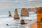 The 12 Apostles, Great Ocean Road, Australia The Great Ocean Road is one of the most famous scenic roads worldwide It crosses the Port Campbell National Park with the well known rock formation and sea stacks like the ´ 12 apostles Thousends of tourists ar